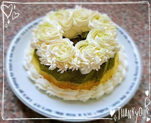 抹茶雙色輕乳酪蛋糕.jpg - 烘焙筆記本