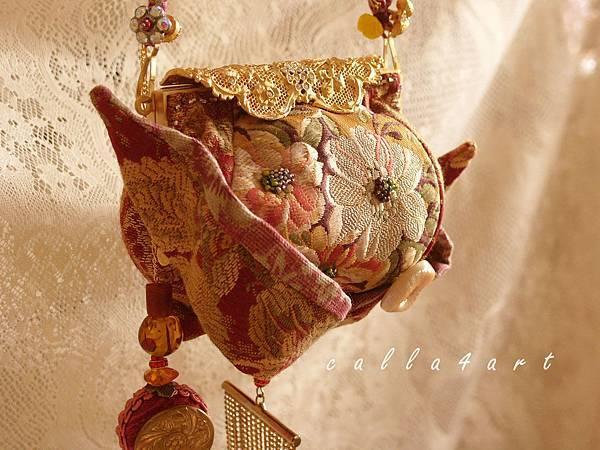 39.{ 舞旋花顏。口金包 } Calla's Handbag