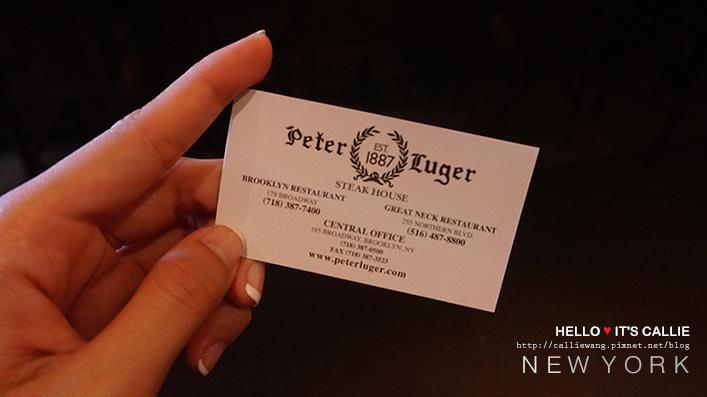 紐約自由行美食Peter Luger26