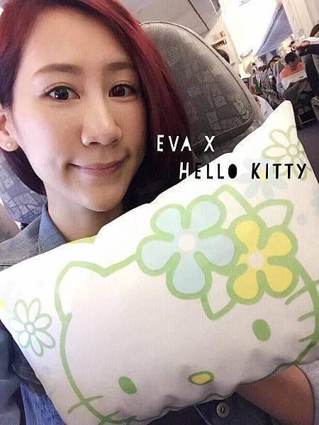 凱莉王長榮航空Kitty彩繪機