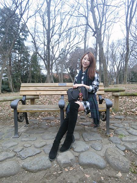 凱莉王東京自由行冬季穿搭52