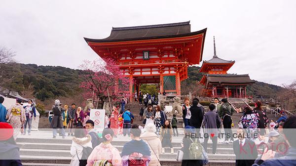 京都清水寺和服一日遊-清水寺前01