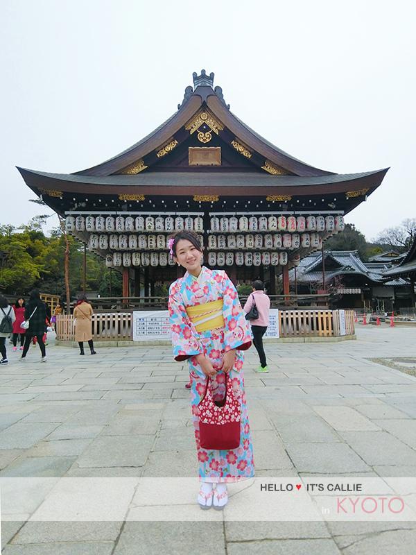 京都清水寺和服一日遊-祇園八坂神舞殿