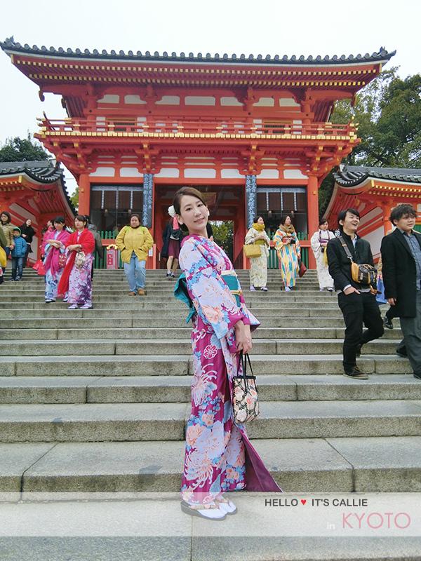 京都清水寺和服一日遊-祇園八坂神社