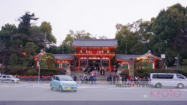 京都清水寺和服一日遊-祇園八坂神社09