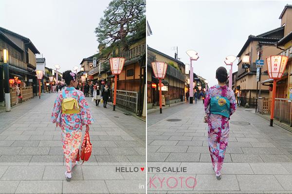 京都清水寺和服一日遊-花間小路1