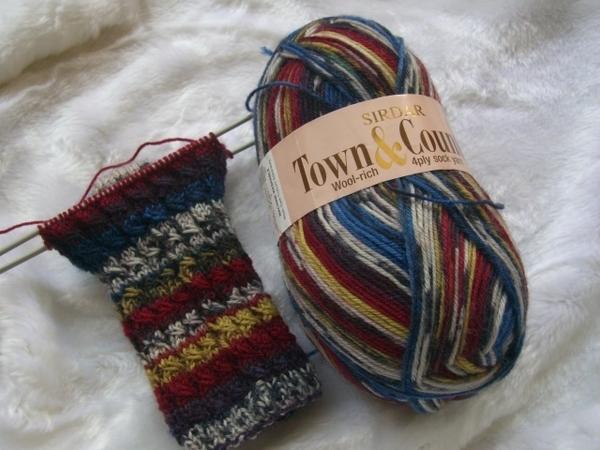 襪線 手工編織