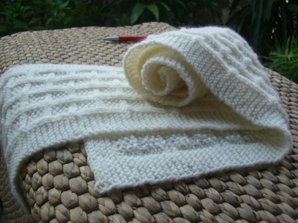 美麗諾羊毛 圍巾編織