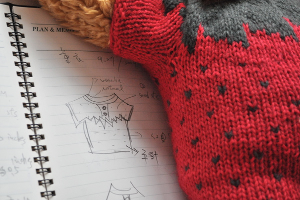 紅美麗諾羊毛