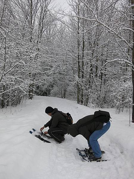 140202_snow shoeing