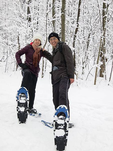 140202_snow shoeing