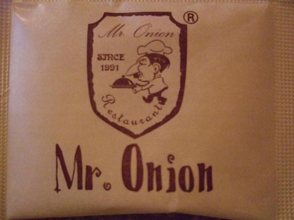 Mr. onion