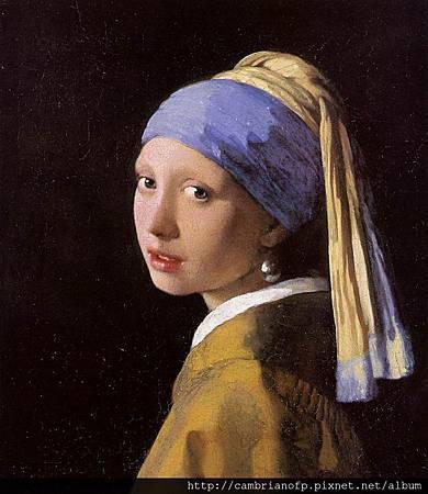 戴珍珠耳環的少女 Girl with a Pearl Earring
