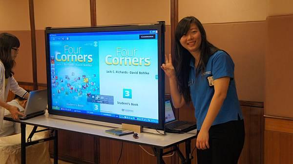 新教材 Four Corners 有出版 e化教學軟體唷
