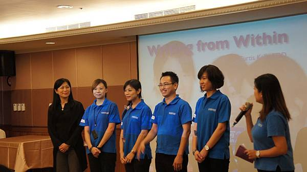 活動開場了先跟大家介紹 華泰的業務服務團隊