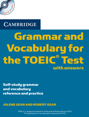 Grammar and Vocabulary for the TOEIC Test