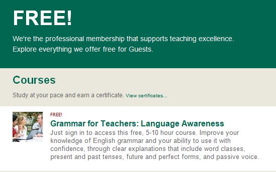 Free grammar courses