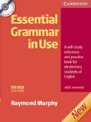 Essential Grammar in Use Edition with answers and CD-ROM