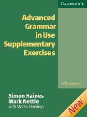 Advanced Grammar in Use Supplementary Excercises Edition with answers