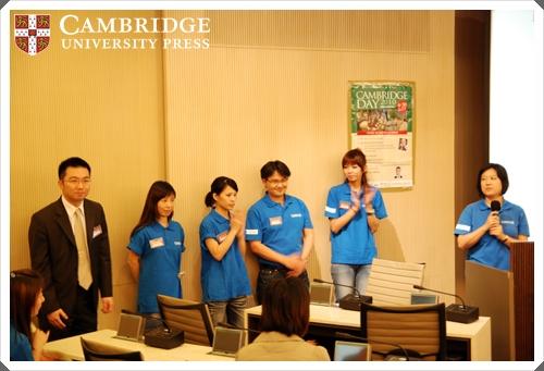 (左-右) 華泰文化吳協理, 華泰文化北區業務: Anna, Ming, Jaco, Emma