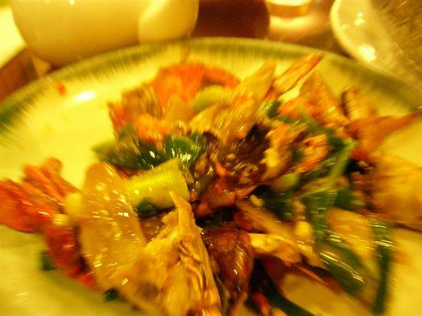 辣炒蟹.不錯吃.比不上廟街的