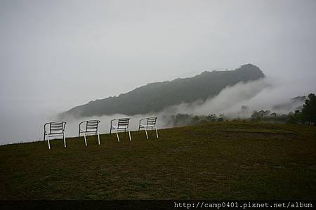 雲霧如大海