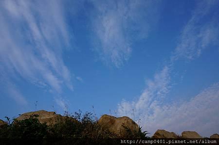 一望無際的藍天