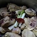 海帶豆皮滷雞腿肉