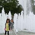 公園裡的水池