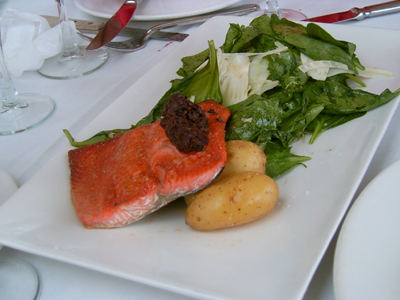 Seared Wild Sockeye Salmon