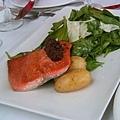 Seared Wild Sockeye Salmon