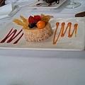 mango coconut dessert