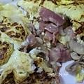 蘑菇培根起司蛋卷
