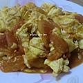 超下飯的料理 ~ 蕃茄炒蛋