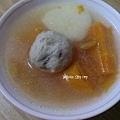 蔬菜香菇貢丸湯