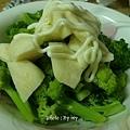 青花菜 & 茭白筍沙拉
