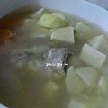 [ 港式煲湯 ] 干貝蔬菜雞骨湯