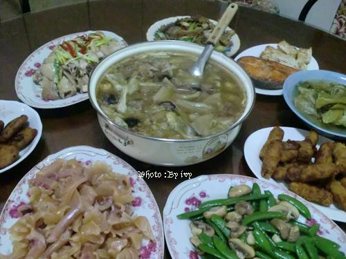 2011年~大年初三的午餐