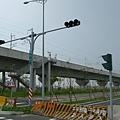 已經完工的高鐵聯絡道,未來它將往北延伸至西螺及南方的台78土庫交流道