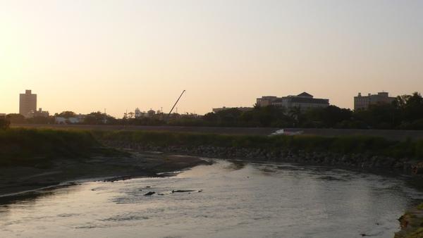 雖不及大甲溪那麼寬,但虎尾溪也不是省油的燈