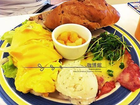 咖博館-美式早餐