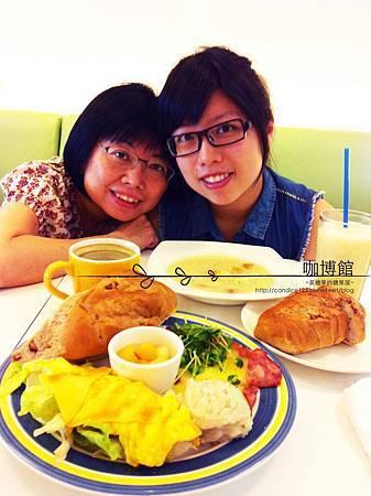 咖博館-美式早餐/濃湯麵包套餐