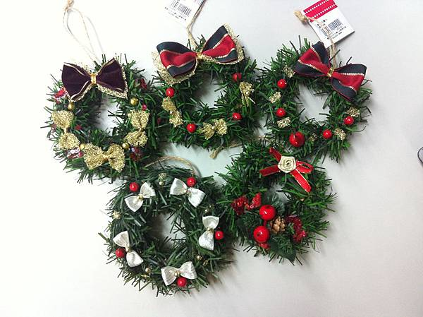 聖誕小花圈