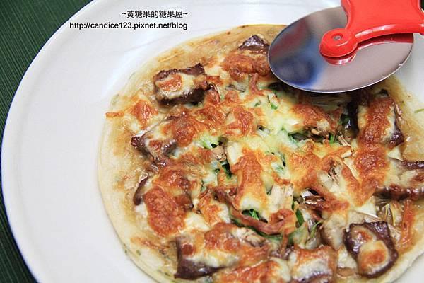 蔥油餅蔥爆牛肉pizza (10)