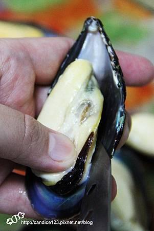 青醬香蒜烤淡菜 (2)