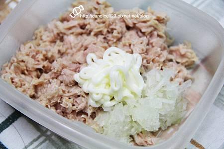 蘆筍蘑菇佐鮪魚沙拉 (2)