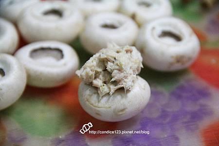 蘆筍蘑菇佐鮪魚沙拉 (4)