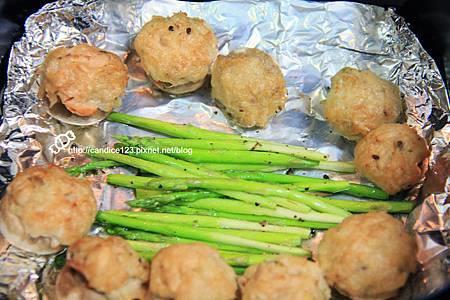 蘆筍蘑菇佐鮪魚沙拉 (7)