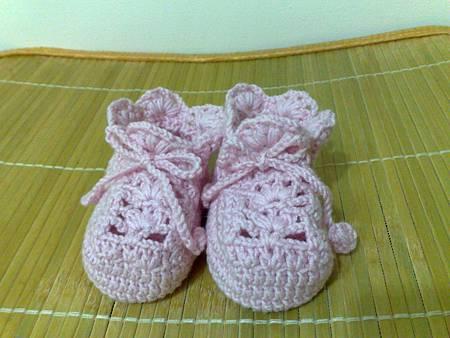 粉紅色娃娃鞋