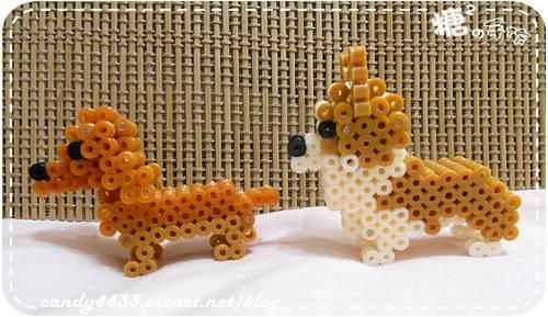 拼豆-立體狗狗2